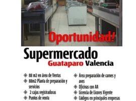 En venta fondo de Comercio Supermercado en Urb. Colinas de Guataparo Valencia