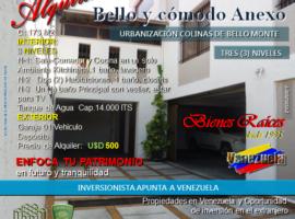 APARTAMENTO EN ALQUILER COLINAS DE BELLO MONTE, CARACAS