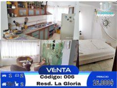 Apartamneto en venta La Gloria, Boca de Aroa, Falcón
